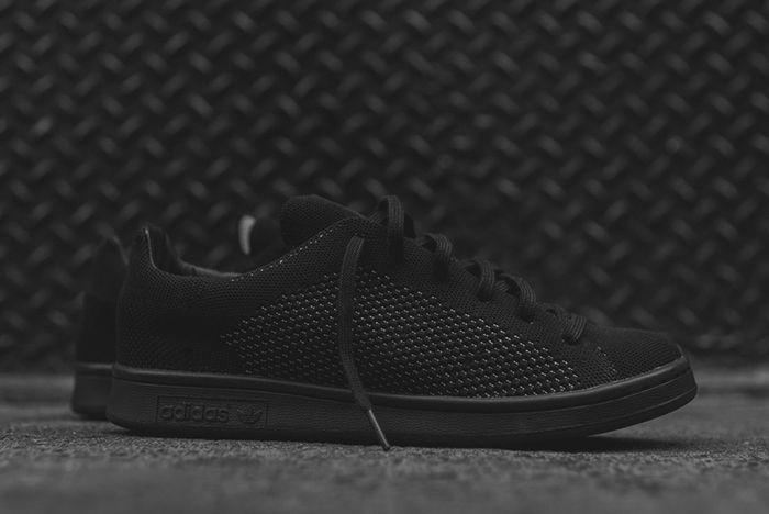 Adidas Stan Smith Primeknit Blackout1