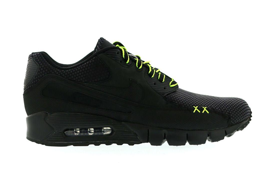 Kaws Nike Air Max 90 Current 346114 001 Lateral