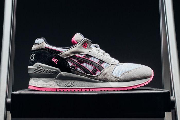 Asics Gel Respector Grey Pink Feature 4