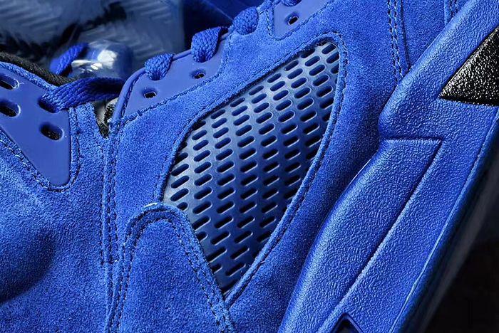Air Jordan 5 Blue Suede6