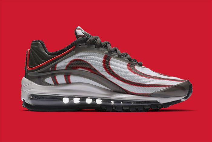 Nike Air Max Deluxe Grey Red 4