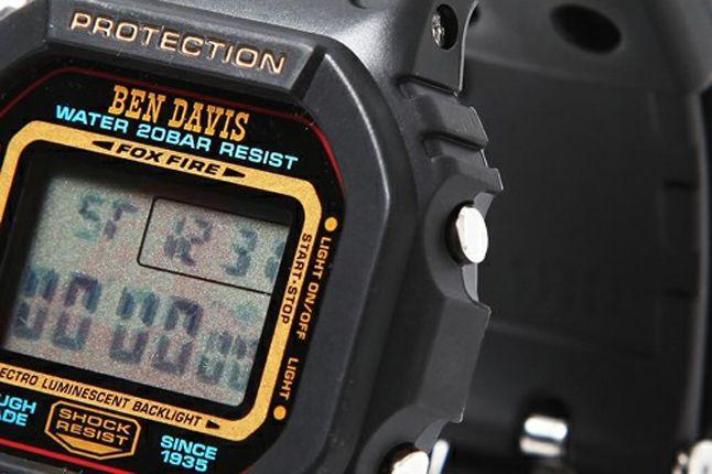 Ben Davis G Shock 6 1