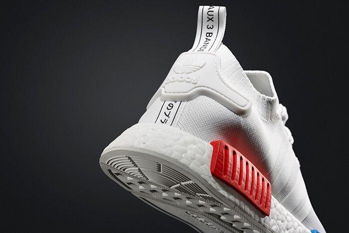 Adidas Nmd R1 Pk White Og11