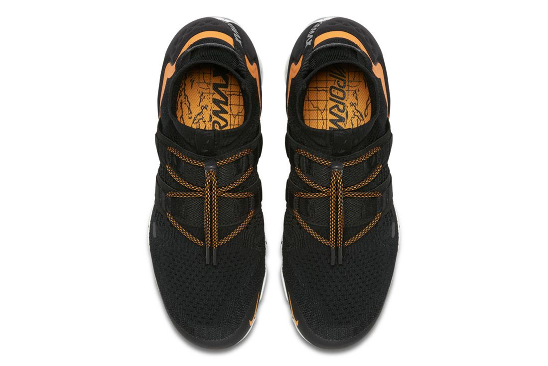 Nike Air Vapormax Utility Black Orange 6