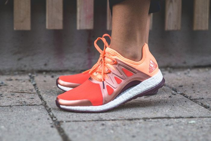 Adidas Pure Boost Womens Xpose Orange 5