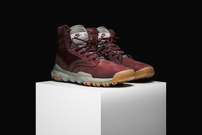 Nike Sfb Field 6 Leather Boot Dark Team Red 2