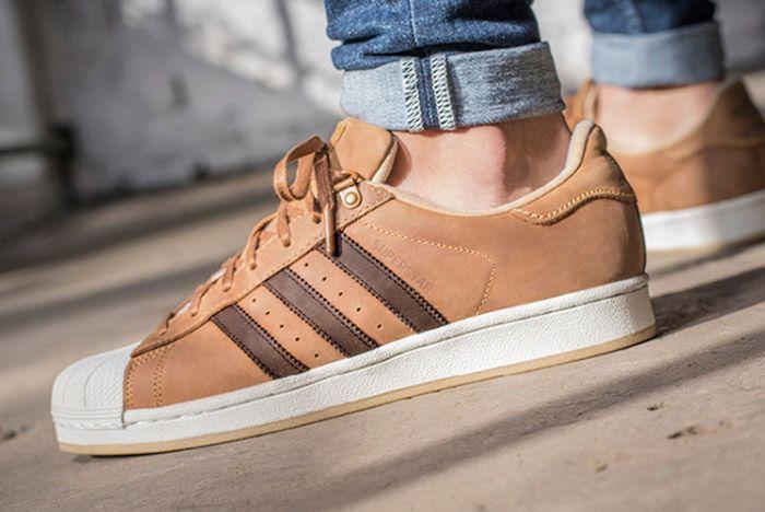 Adidas Master Craft Superstar Tan Leather 1
