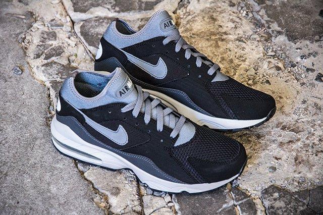 Nike Airmax 93 Grey Anthrct Pr Pltnm 2