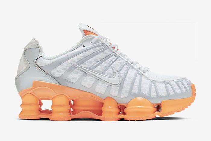 Nike Shox Tl Fuel Orange Right