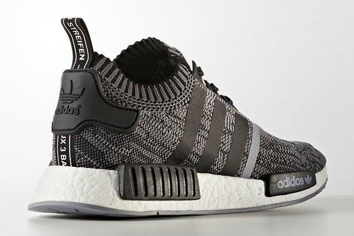 Adidas Nmd R1 Black White 5