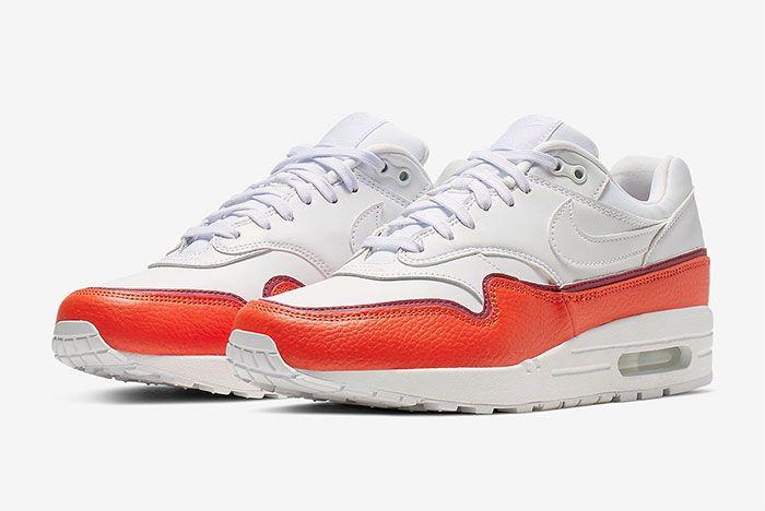 Nike Air Max 1 Layer Red Quarter