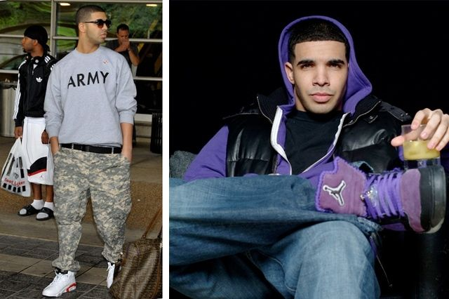 Drake Sneaker Style Profile 10