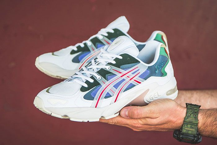 Asicstiger X Hbx Gel Kayano 5 Meadow 1021A180 101 1 Pair In Hand