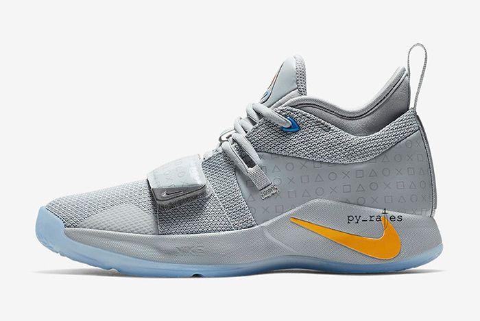 Nike Pg 2 5 Playstation Grey 2