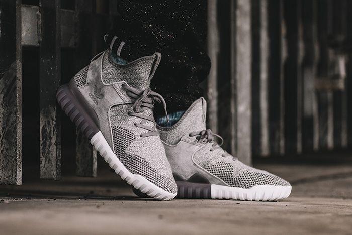 Adidas Tubular X Primeknit Solid Grey 1