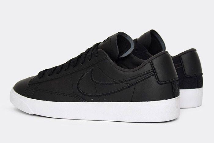 Nike Blazer Low Wmns Black Paris Fashion Week 2
