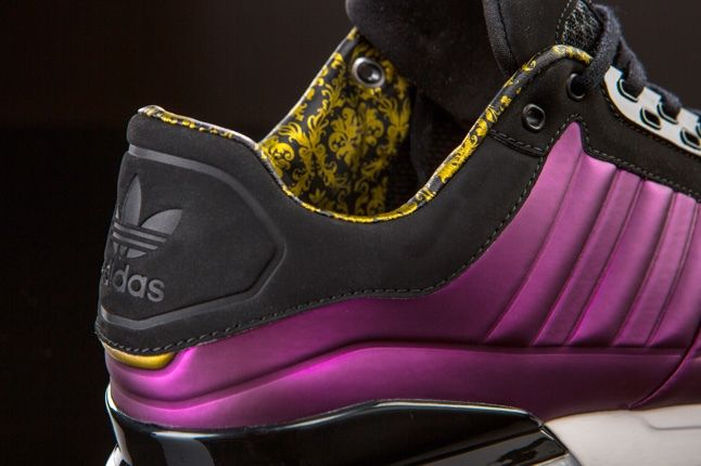 Adidas Originals T Zx Runner Amr Purple Heel Detail 1