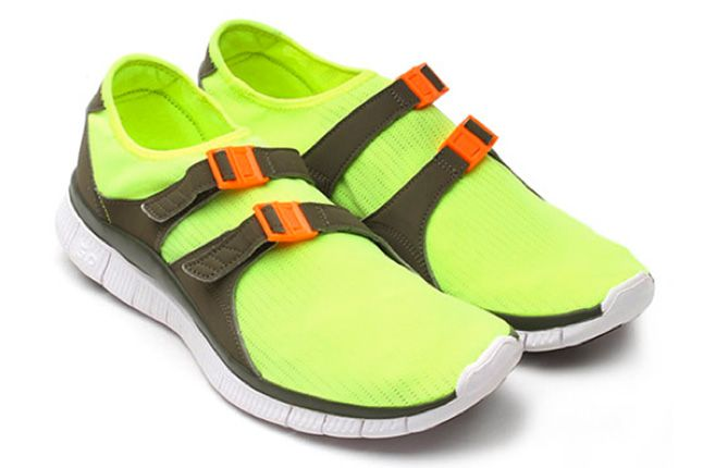 Nike Free Sock Racer Candy Pack Volt Pair 1