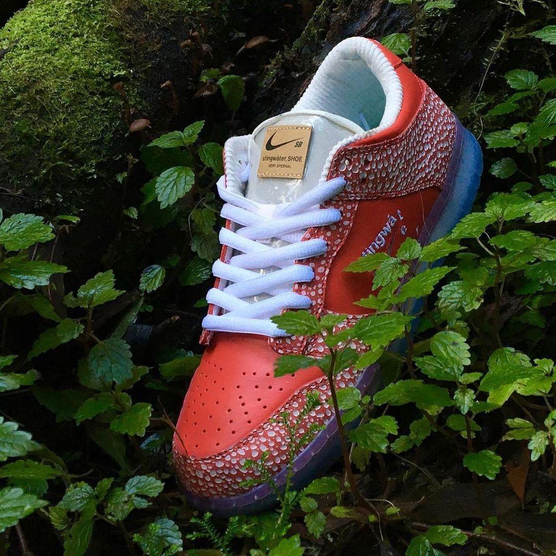 Stingwater x Nike SB Dunk Low 'Magic Mushroom'