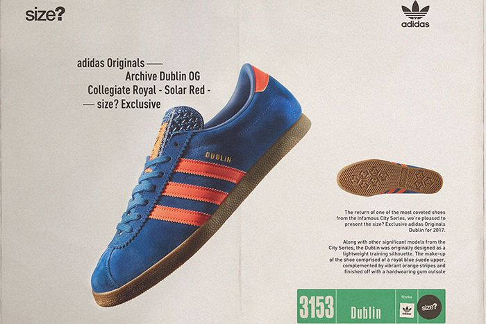 Size X Adidas Originals Dublin