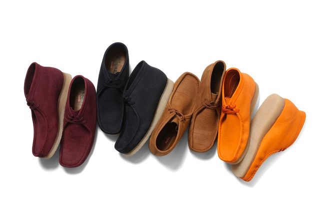 Supreme X Clarks Wallabee Boot Collection 1