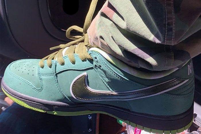 Nike Sb Dunk Green Lobster Release