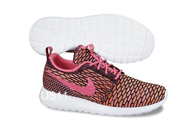 Nike Flyknit Rosherun Pnk Org