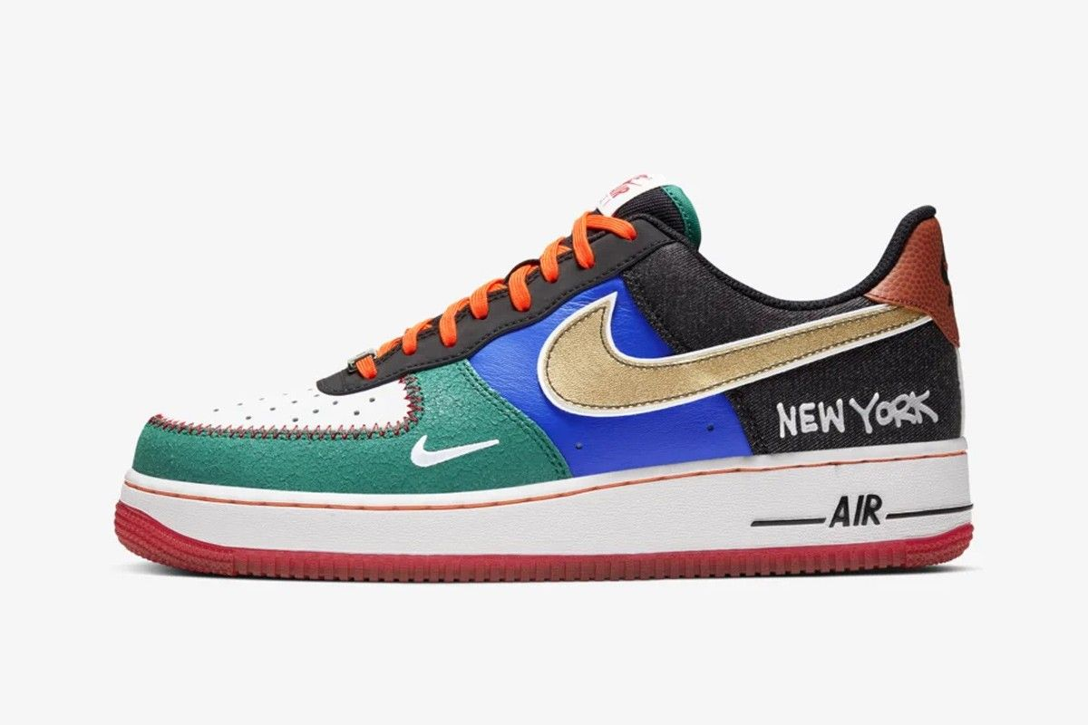 Nike Air Force 1 What The NY Left