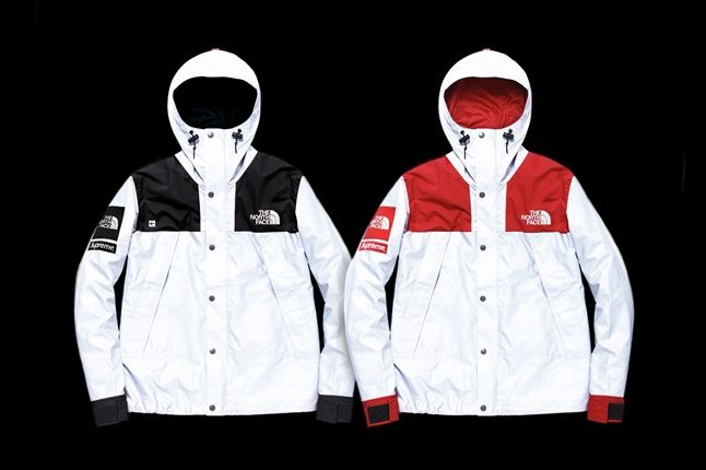 Supreme North Face 3M Collection Jacket Set 1