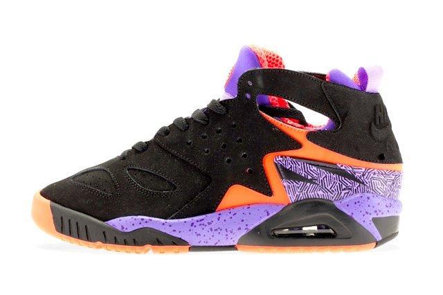 Nike Air Tech Challenge Huarache Atomic Orange Court Purple 1