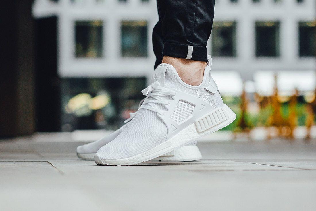 Adidas Nmd Xr1 White Glitch 1