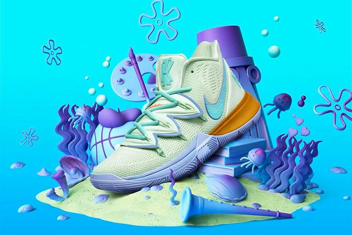 Nike Kyrie 5 Squidward Tenticles
