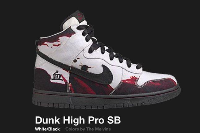 Nike Dunk Hi Melvins Sb 1 2