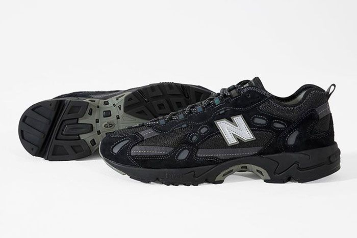 Thisisneverthat New Balance 827 Black Lateral
