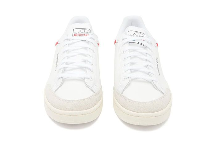 Adidas Americana Low White Red Front