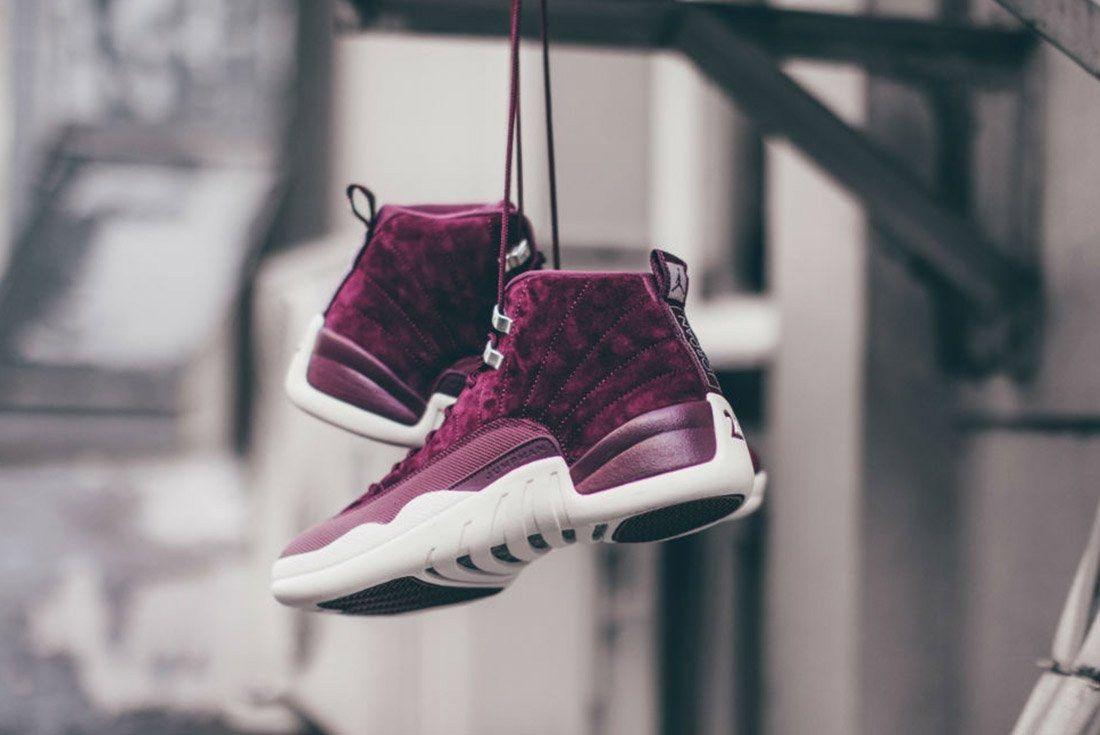 Air Jordan 12 Bordeaux 2