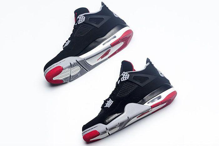 Air Jordan 4 Bred Black Red 2019 308497 060 6