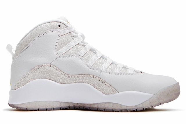 Drake Sneaker Style Profile Air Jordan 10 White