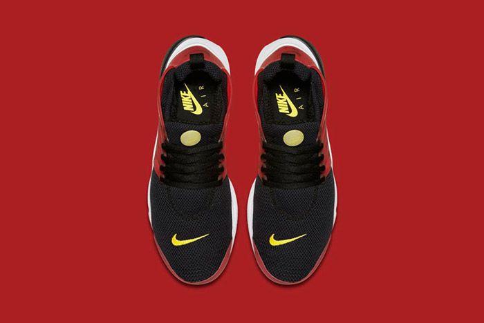 Nike Air Presto Black Red Bred 3