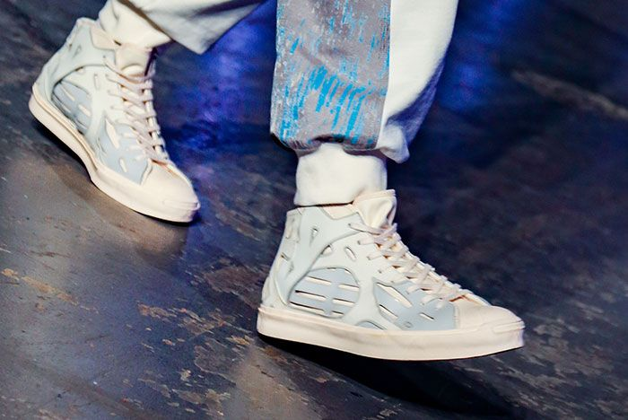 Feng Chen Wang Converse Jack Purcell 5Fashion Week London