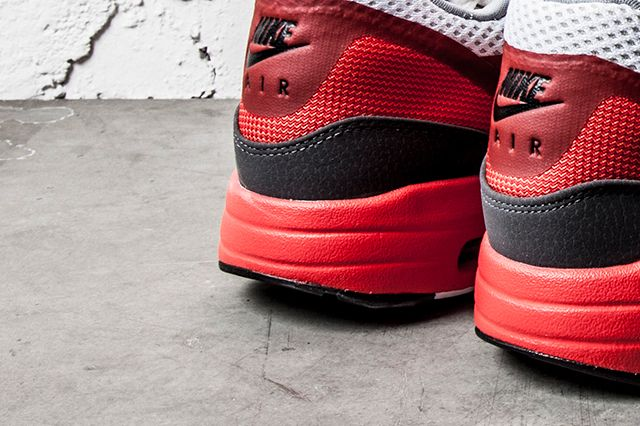 Nike Air Max 1 Light Crimson Dark Grey 2