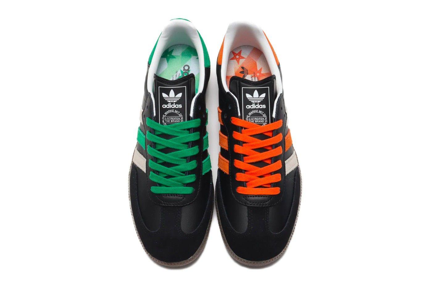 adidas Samba Mismatched Top