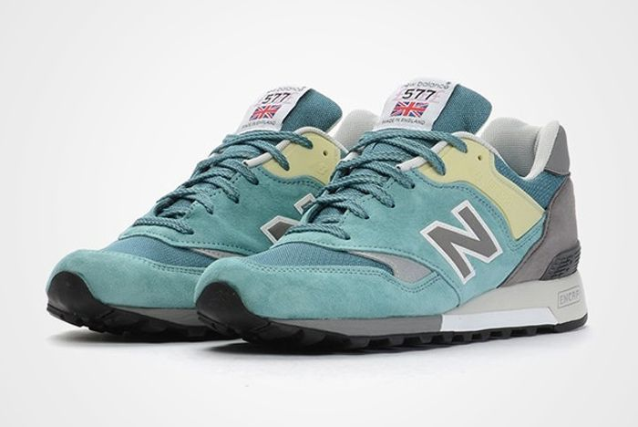 Nb577 Aqua Suede Feature