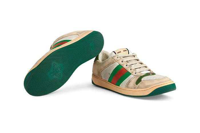Gucci Distressed Sneakers Gg Canvas Release 8