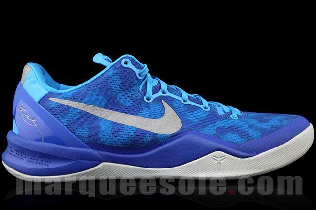 Nike Kobe 8 Aqua Camo Side Profile 1