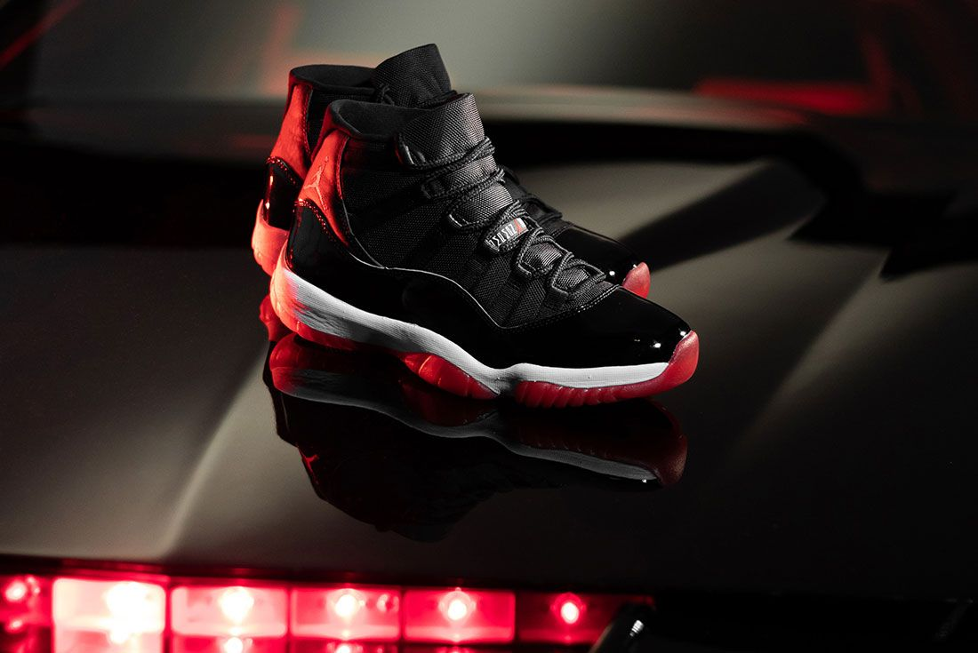 Afew Air Jordan 11 Bred Knight Rider Boot Front Angle