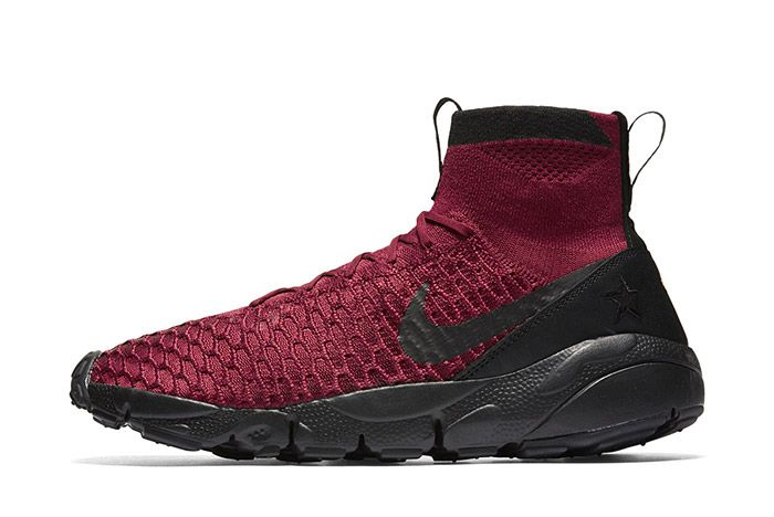 Nike Air Footscape Magista Flyknit Fc Burgundy 2