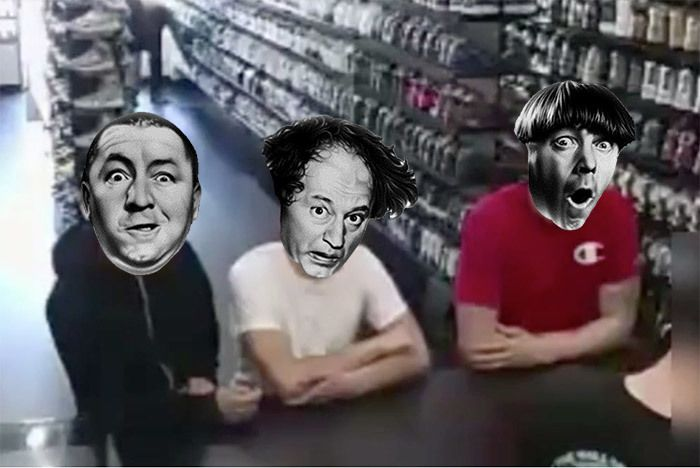 The Three Sneaker Stooges 1