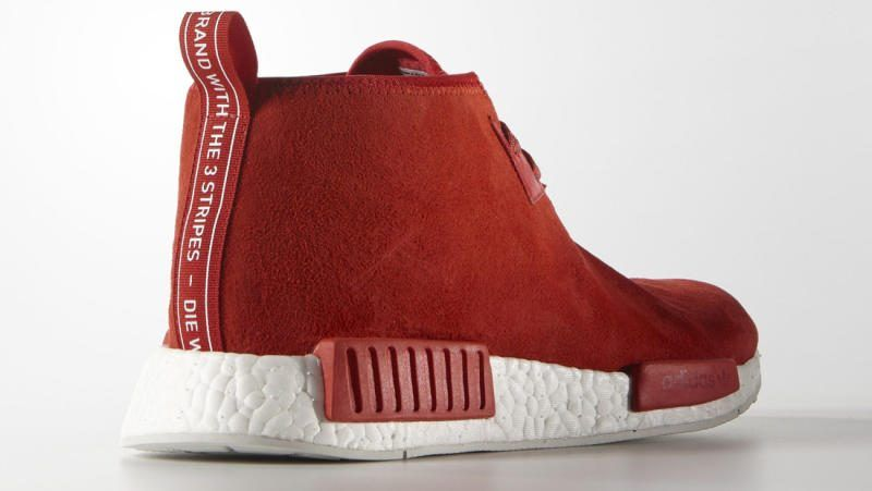 Adidas Chukka Boost Red 1