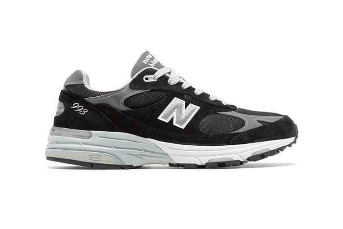 New Balance 993 Black Lateral